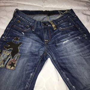 Lucky Brand sz 25 (0) star jeans